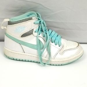 Retro Air Jordan High Top Girls Size 1Y